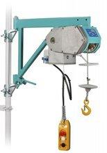 DOSTAWA GRATIS! 05668334 Wciągarka budowlana z uchwytem rusztowaniowym (udźwig: 150 kg, wysokość podnoszenia: 30 m)
