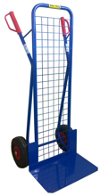 DOSTAWA GRATIS! 13340541 Wózek dwukołowy ręczny z siatką do przewozu ciężkich przedmiotów (nośność: 250 kg)