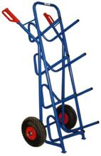 DOSTAWA GRATIS! 13340548 Wózek dwukołowy schodowy kroczący ręczny do przewozu galonów, wersja krocząca (nośność: 150 kg)