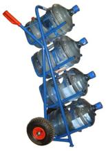 DOSTAWA GRATIS! 13340556 Wózek dwukołowy ręczny do przewozu galonów (nośność: 150 kg)