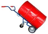 DOSTAWA GRATIS! 13340557 Wózek trójkołowy ręczny do przewozu stalowych beczek (nośność: 300 kg)