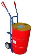 DOSTAWA GRATIS! 13340560 Wózek dwukołowy ręczny do przewozu stalowych beczek (nośność: 400 kg)