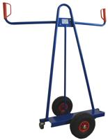 DOSTAWA GRATIS! 13340561 Wózek trójkołowy ręczny do przewozu dużych płyt (nośność: 150 kg)