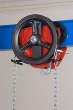 DOSTAWA GRATIS! 2203102 Wózek jedno-belkowy z napędem ręcznym Z420-B/3.2t/3m (wysokość podnoszenia: 3m, szerokość dwuteownika od: 106-226mm, udźwig: 3,2 T)