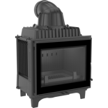 DOSTAWA GRATIS! 30055398 Wkład kominkowy 10kW Franek (szyba prosta) - spełnia Ekoprojekt