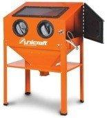 DOSTAWA GRATIS! 44340228 Komora do piaskowania bez zanieczyszczania środowiska pracy Unicraft SSK 2 (pojemność: 220 l)