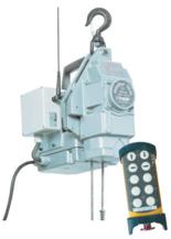 DOSTAWA GRATIS! 44929806 Przenośna wciągarka silnikowa Tractel® Minifor TR30, sterowanie radiowe, 230V (udźwig: 300 kg)