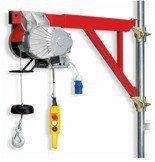 DOSTAWA GRATIS! 55547203 Wciągarka budowlana elektryczna + zdalne sterowanie z niskim napięciem (udźwig: 200 kg, długość liny: 25m)