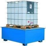 DOSTAWA GRATIS! 99724725 Paleta do kontenerów GermanTech (ilość kontenerów: 1, wymiary: 1310x1310x750 mm)