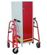 DOSTAWA GRATIS! 99724838 Wózek do transportu maszyn, mebli GermanTech (udźwig: 600 kg)