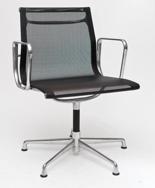 DOSTAWA GRATIS! 99851114 Fotel konferencyjny CH1081 inspirowany EA108 siateczka, chrom
