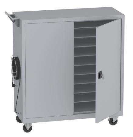 00150456 Wózek na laptopy na 20 kompletów (wymiary: 1330x1200x500 mm)