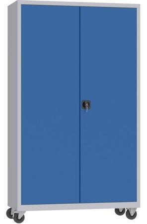 00150628 Szafa narzędziowa na kółkach, 2 drzwi (wymiary: 1950 + koła x1200x500 mm)