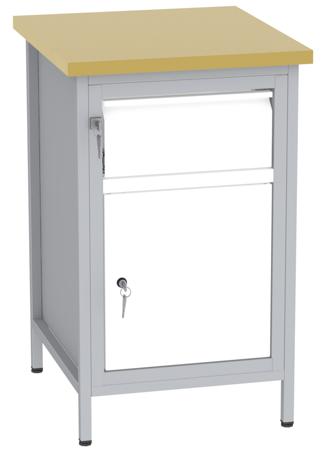00150679 Stanowisko pod wiertarkę, 1 drzwi, 1 szuflada (wymiary: 880x550x600 mm)