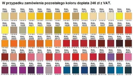 00150704 Szafa żaluzjowa (wymiary: 575x800x500 mm)