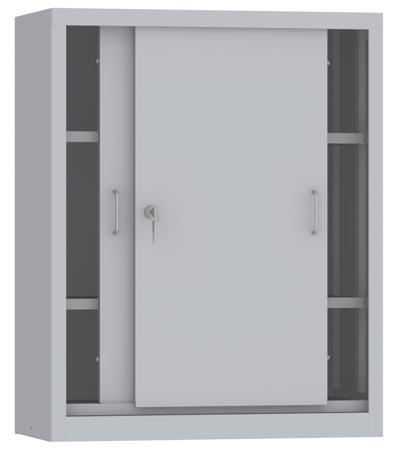 00150811 Szafa przesuwna niska, 2 półki (wymiary: 1000x800x500 mm)