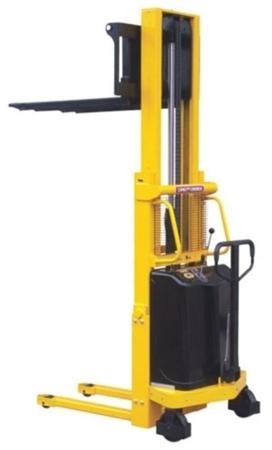 00546107 Wózek podnośnikowy półelektryczny (udźwig: 1000 kg, min./max. wysokość wideł: 85/3000 mm)