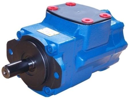 01539226 Pompa hydrauliczna łopatkowa dwustrumieniowa B&C T6CCW-025-014-2R00-C100 (objętość robocza: 79,3 + 46,0 cm³, maksymalna prędkość obrotowa: 2200 min-1 /obr/min)
