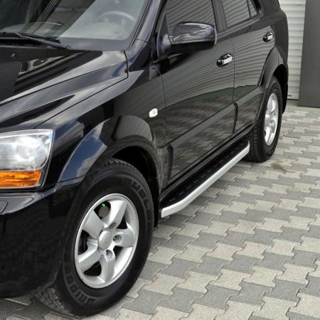 01655715 Stopnie boczne - Kia Sportage 2004-2009 (długość: 171 cm)