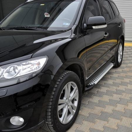 01656011 Stopnie boczne - Hyundai SantaFe 2006-2012 (długość: 182 cm)