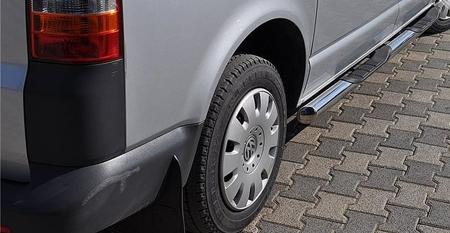 01656387 Orurowanie ze stopniami z zagłębieniami - Opel Vivaro 2014- short 4 stopnie