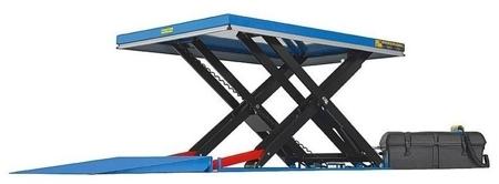 01843674 Podnośnik, podest nożycowy ESS-40/160-3C (udźwig: 4000 kg, wymiary: 2200x1200mm, skok: 1600mm, moc: 2,3kW)