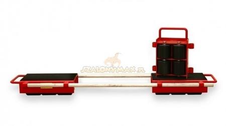 03015127 Zestaw rolek transportowych przód i tył (nośność: 36,0 T)
