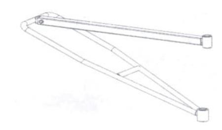 08126416 Ramie robocze do wyciągarki Camac Minor P-200