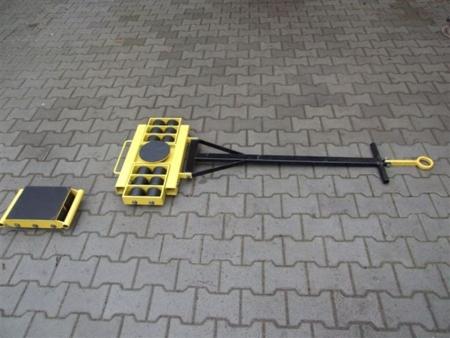12235624 Zestaw wózków, rolki: 24x nylon (nośność: 24 T)