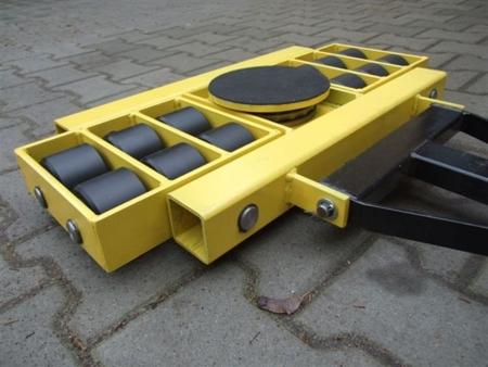 12235625 Zestaw wózków, rolki: 24x kompozyt (nośność: 40 T)