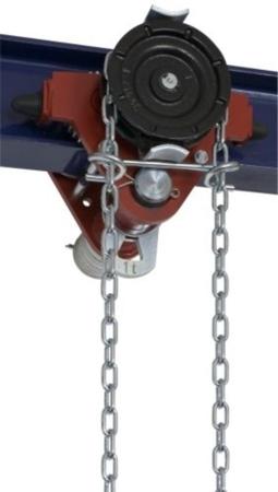 22038962 Wózek jedno-belkowy z napędem ręcznym Z420-A/1.0t/9m (wysokość podnoszenia: 9m, szerokość dwuteownika od: 50-113mm, udźwig: 1 T)