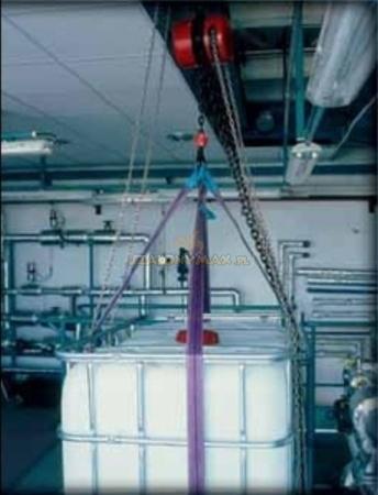 2209156 Wciągnik łańcuchowy z przekładnią planetarną Z100/5.0t (wysokość podnoszenia: 6m, udźwig: 5 T)