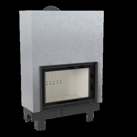30053245 Wkład kominkowy 15kW MBO 15 Gilotyna (szyba prosta, drzwi podnoszone do góry)