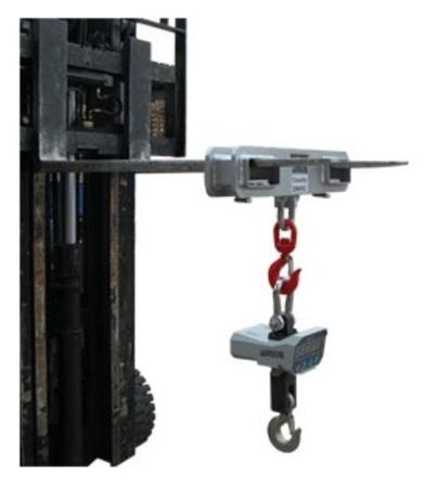 31026273 Waga hak montowana do wózka CW30 (udźwig: 3 T)