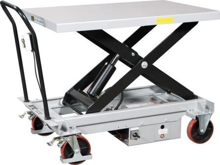 310555 Ruchomy stół podnośny elektryczny ES100L (udźwig: 1000 kg, wymiary platformy: 1200x800 mm)