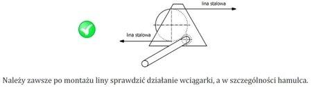 3398497 Wciągarka linowa ERA 2 (bez liny, udźwig: 2000 kg)