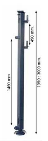 37515648 Maszt wysoki PREME P rozporowy (1950 - 3000mm)
