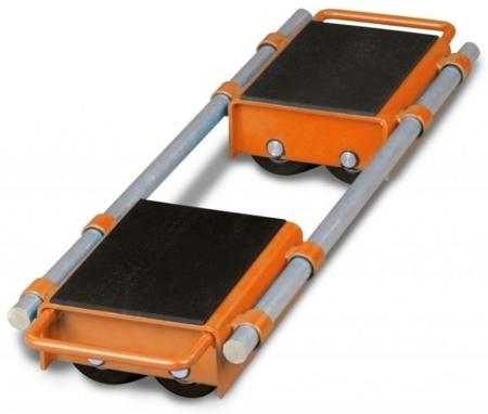 44340167 Podwójne rolki transportowe Unicraft VTR 12 (udźwig: 12 t)