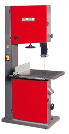 44349945 Piła taśmowa do drewna Holzmann HBS 600PROFI 230V (wyładowanie / max szer. cięcia: 550 mm, wymiary stołu: 633x485 mm)