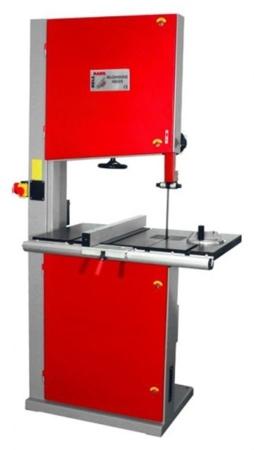 44349947 Piła taśmowa Holzmann HBS 610 230V (wymiary obrabianego przedmiotu: 590/310 mm, wymiary blatu: 875x500 mm)