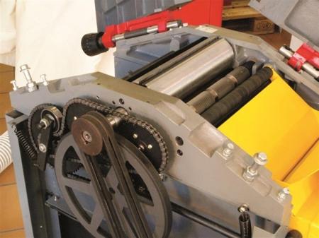 44349955 Strugarko-grubosciówka HOB 260N 400V (szerokość/wysokość obróbki: 250/180 mm, długość blatu wyrówniarki: 1085 mm)