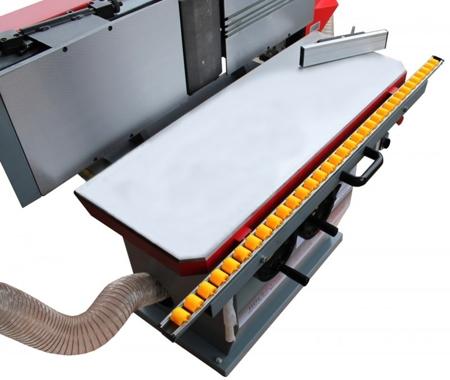 44349997 Szlifierka krawędziowa Holzmann KOS 3000C z trzewikiem do forniru (wymiary taśmy: 3000x200 mm, wymiary blatu: 960x350 mm)