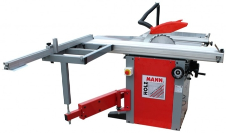 44350026 Tarczówka stolarska Holzmann TS 315F 1500 230V (wymiary tarczy: 315x30x3,2 mm, stół roboczy: 760x350 mm)