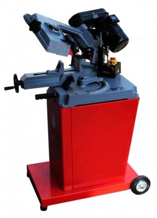 44350084 Piła taśmowa do cięcia metalu Holzmann BS 128PRO 400V (zakres cięcia: -45° bis +60°, prędkość cięcia: 23/34/54 m/min, moc: 825 W)