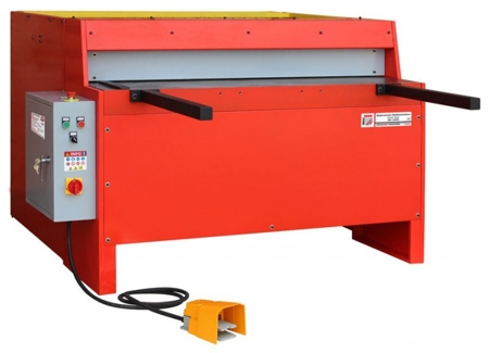 44350131 Elektryczne nożyce gilotynowe do blachy Holzmann TBS 1250E3 (max. długość cięcia: 1250 mm, moc: 3 kW)