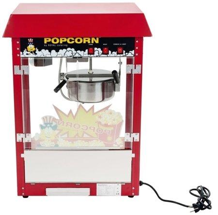 45643432 Maszyna do popcornu z wózkiem Royal Catering RCPW-16E (moc: 1600W, wydajność: 5 - 6 kg/h)