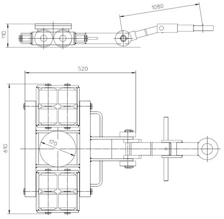 4993991 Podwozie transportowe L6 (nośność: 6T)
