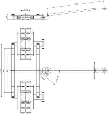 4994007 Podwozie tandemowe TL12 (nośność: 12T)