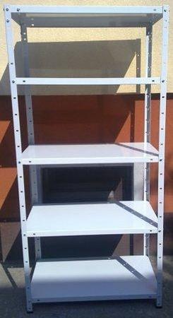 77156797 Regał metalowy, 6 półek (wymiary: 3000x900x500 mm, obciążenie półki: 150 kg)