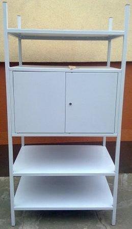 77156809 Regał metalowy, szafka, 3 półki (wymiary: 2000x900x600 mm)